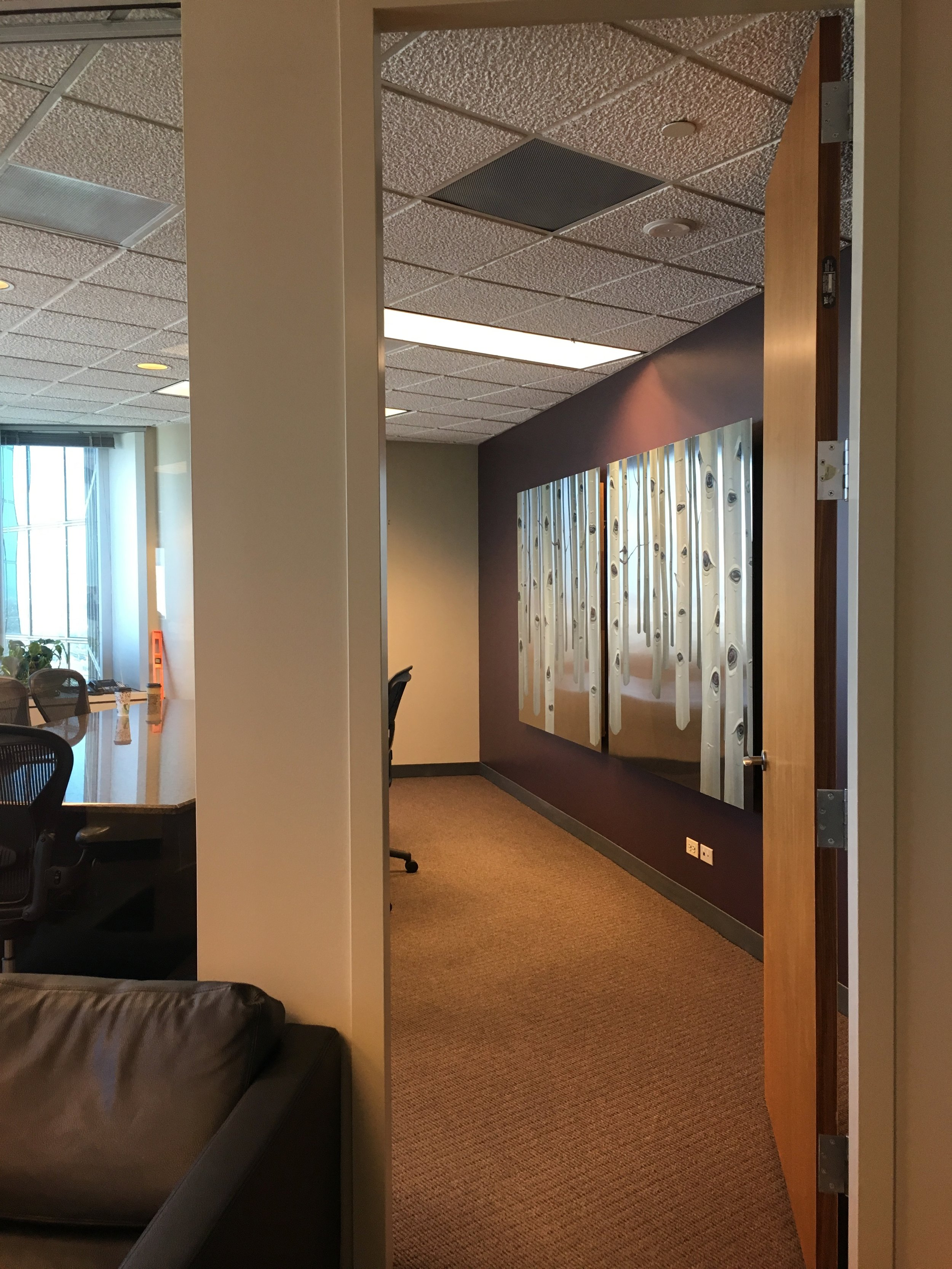 Sentinels installed in the offices of Jester, Gibson & Moore LLP, Denver, CO