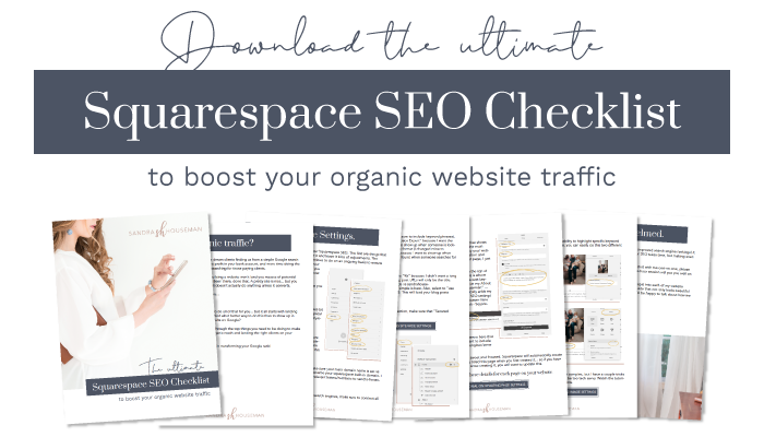 Boost your Squarespace SEO