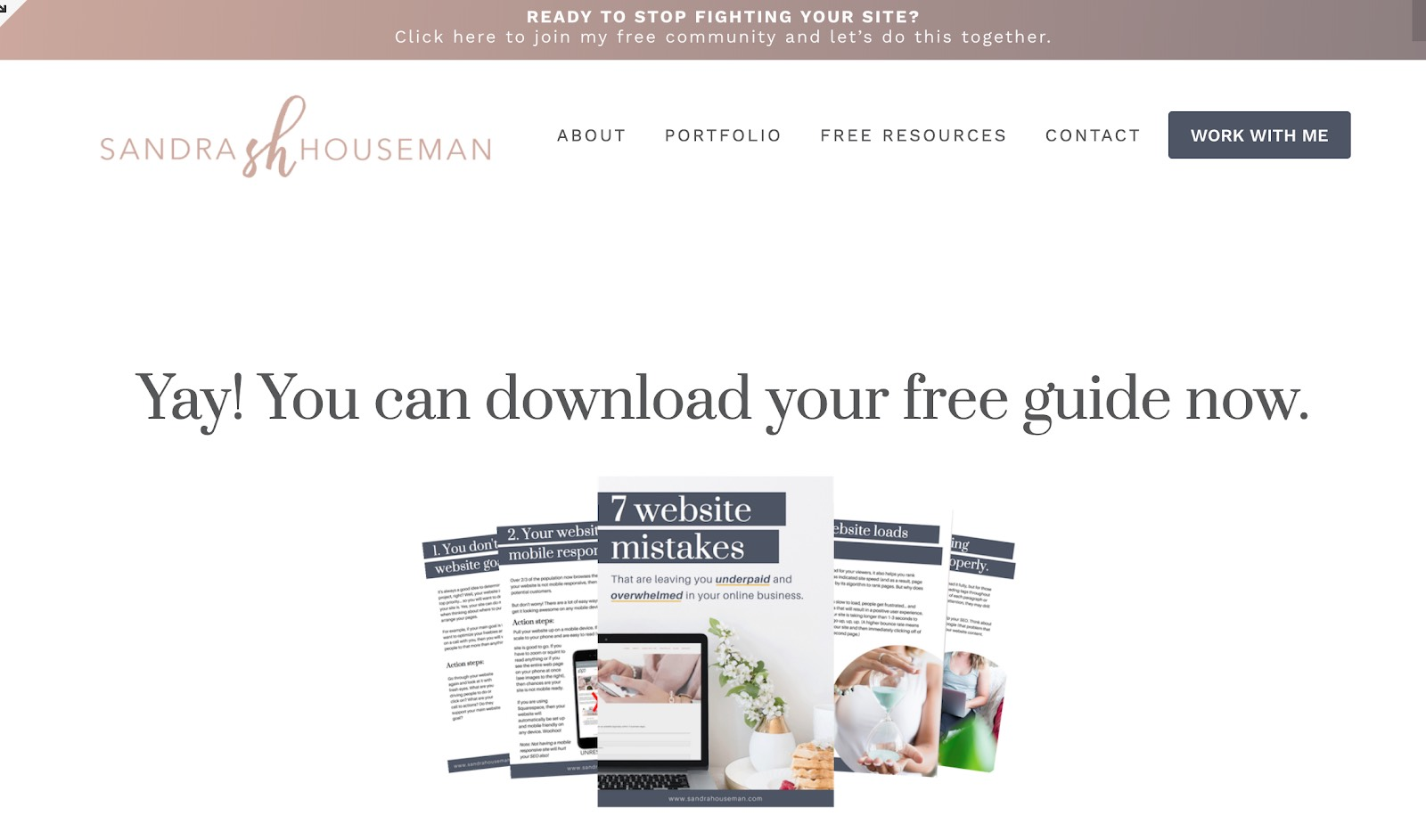 sandra houseman how to grow your email list