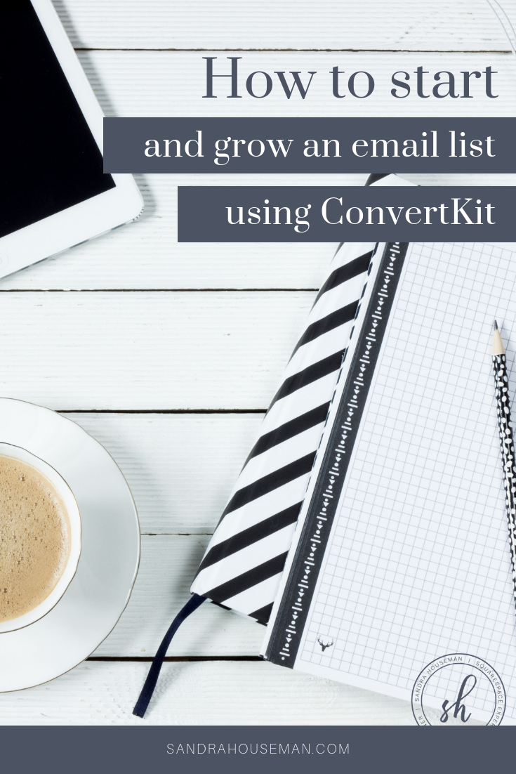sandra houseman how to start and grow your email list