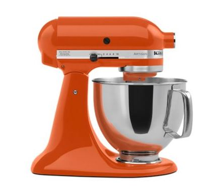 Kitchen Aid mixers are offered in more than 20 colors!