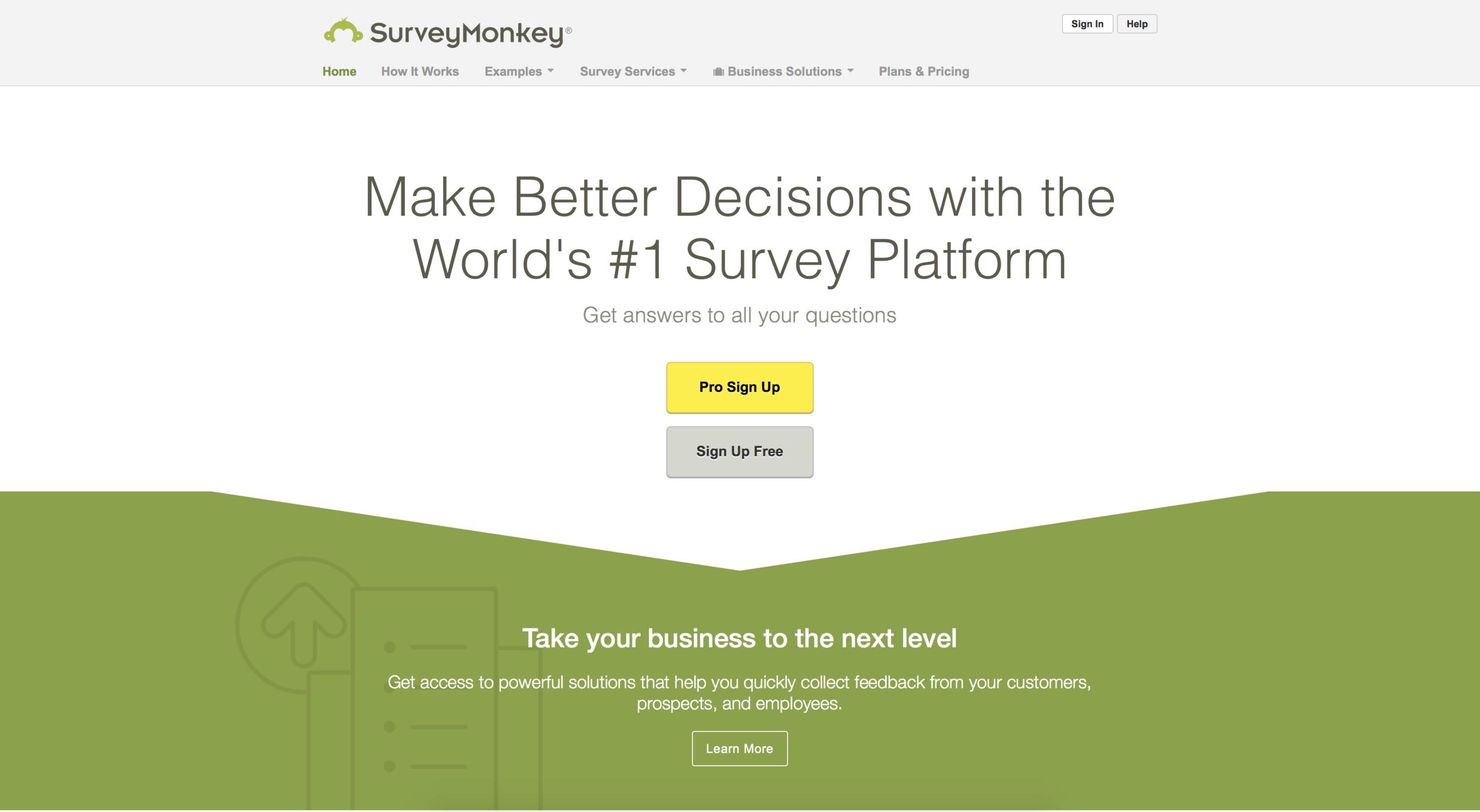 Hello-Mammoth-Blog-Small-Business-Marketing-Surveymonkey