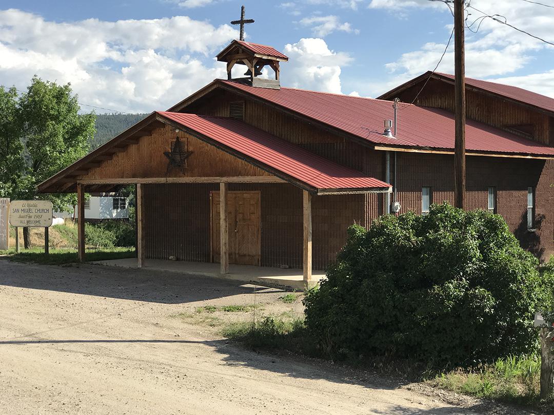 San Miguel Church – El Valle, NM