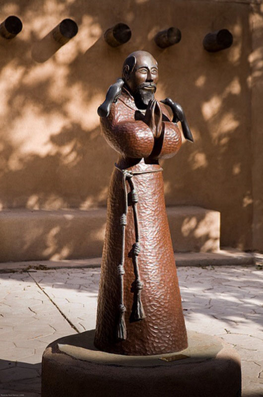 St. Francis of Assisi   monumental bronze by Marco A. Oviedo
