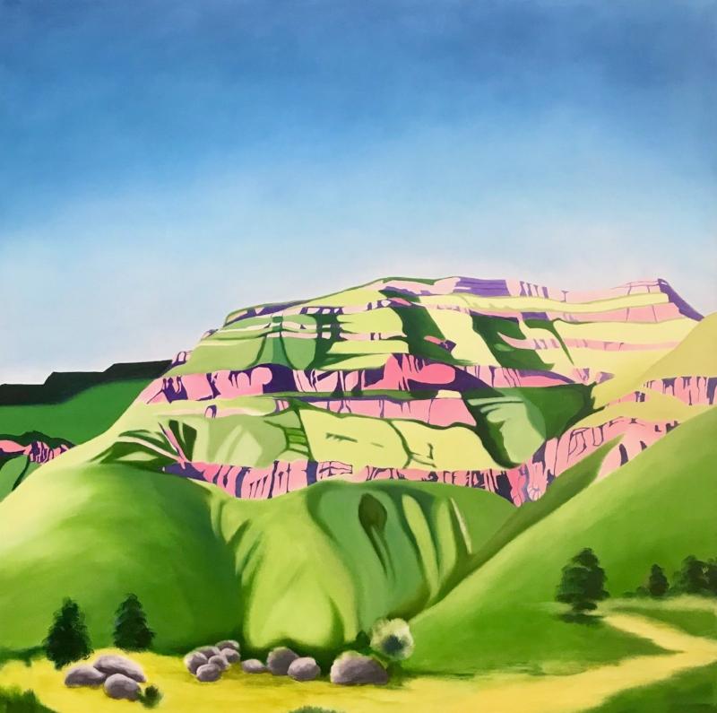 Salt River canyon   Oil on Canvas