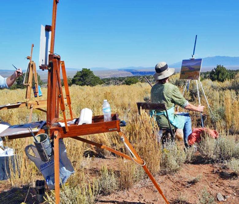 Chris Morel - Plein Air Painting Workshop NM #5.jpg