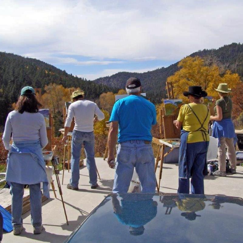 Chris Morel - Plein Air Painting Workshop NM #2.jpg