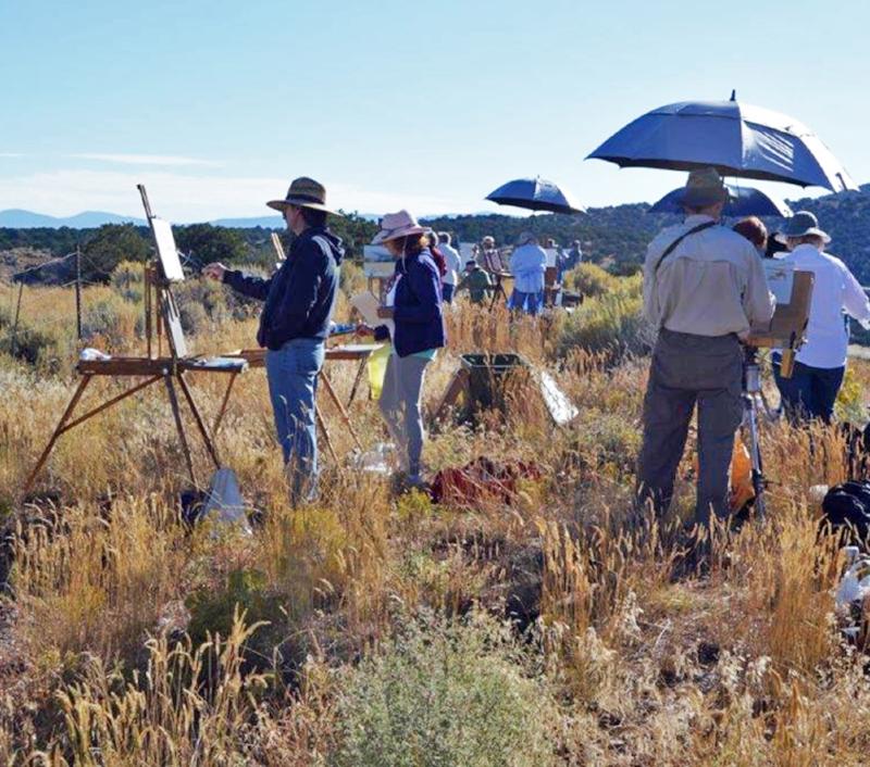 Chris Morel - Plein Air Painting Workshop NM #3.jpg