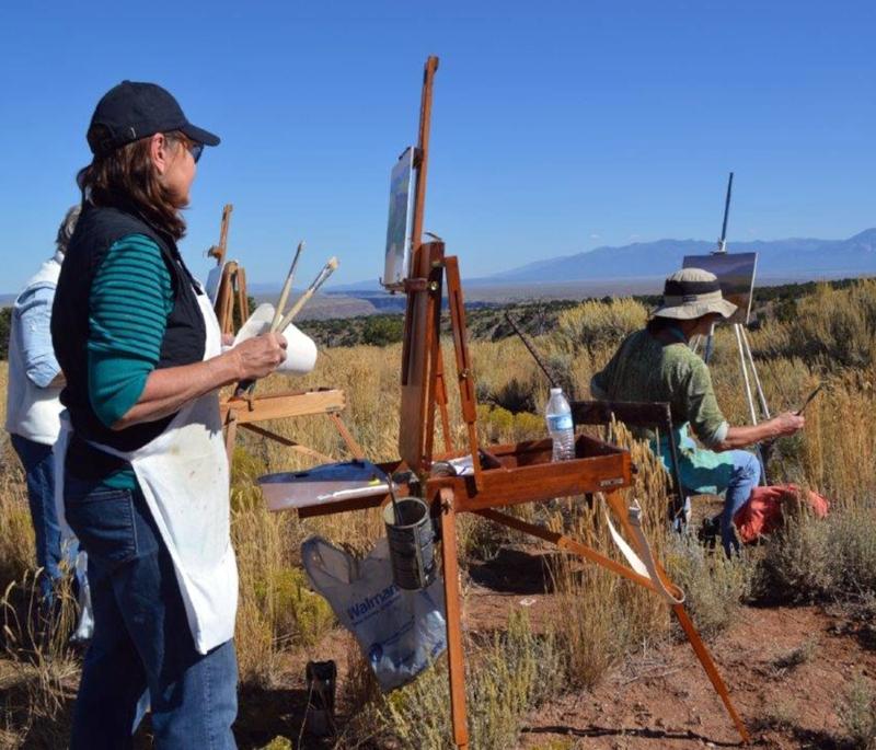 Chris Morel - Plein Air Painting Workshop NM #4.jpg