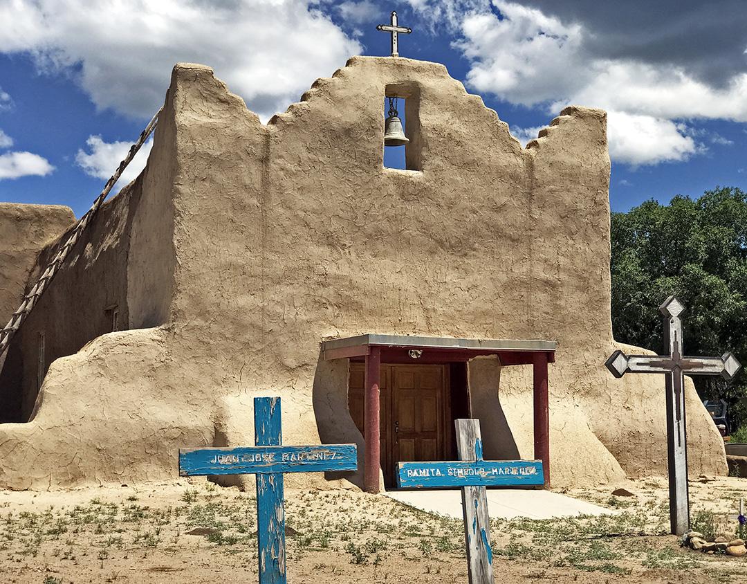Church of San Lorenzo, Picuris Pueblo.