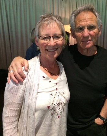 - With Jon Kabat-Zinn founder of the Mindfulness Based Stress Reduction Program (MBSR) at the Omega Institute Mindfulness Retreat May 2018