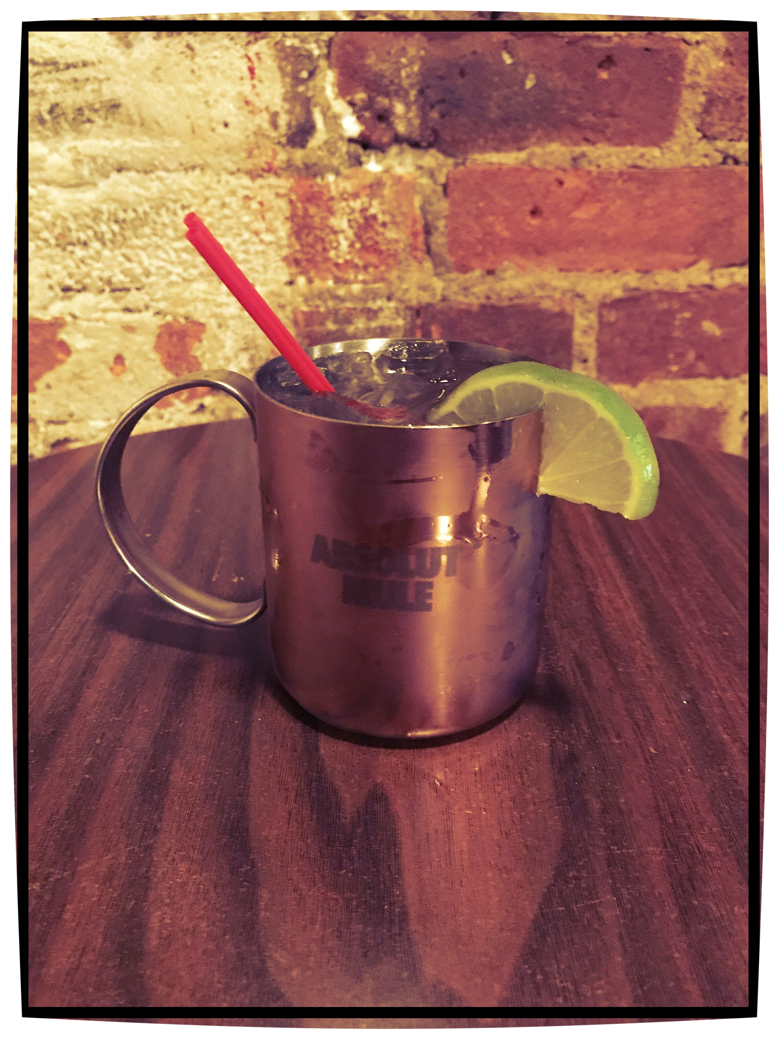 Absolut Mule $11 - Absolut Premium Vodka, Ginger Beer, Lime Wedge