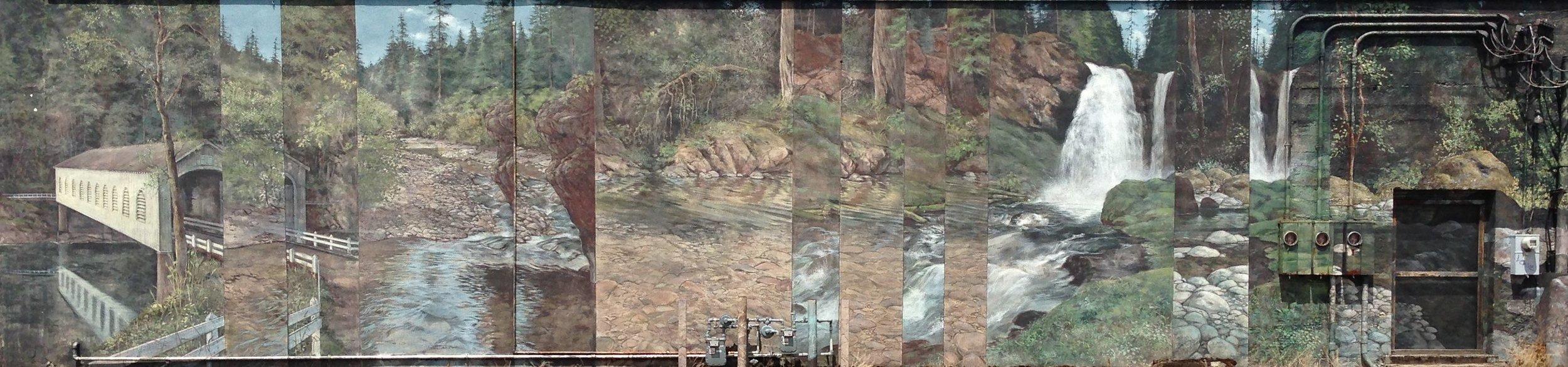 13. McKenzie River (1991), by Ann Woodruff Murray