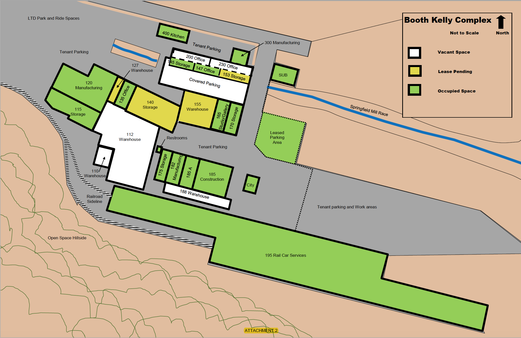 Site plan (as of 2013)