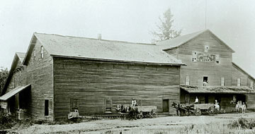 One of Springfield's first mills. (Photo courtesy of the Springfield Museum)