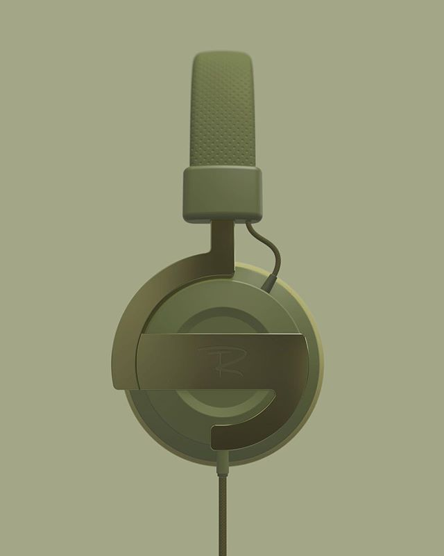 🎧 a monochromatic headphone rendering for @renderweekly - I always have the ambition to design my own products for these challenges! Went for green again though ;) . . . #headphones#rendering#monochromatic#shades#green#metal#plastic#fabric#leather#renderweekly#challenge#renderoftheday#weeklydesignchallenge#industrialdesign#productdesign#keyshot#keyshotrender#rhino#rhino3d#photoshop#render#digital#cad#shape#design#tr#logo#label