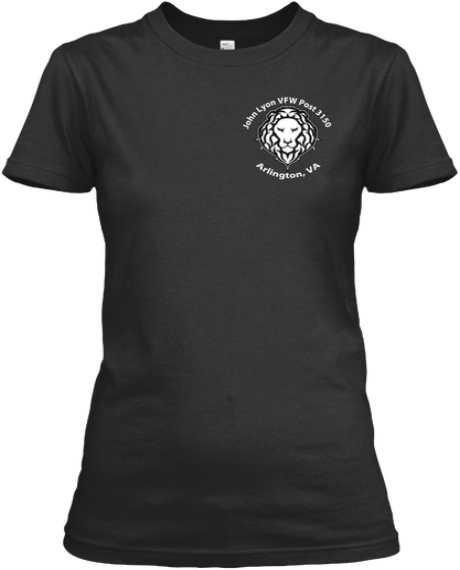 Women's White Lion Tee - More colors available!