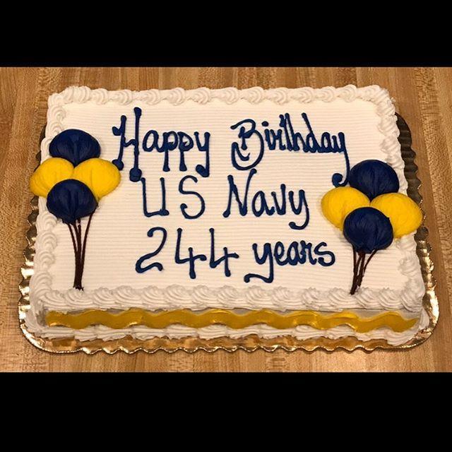 Happy 244th Birthday to the U.S. Navy!!! #navybirthday #happybirthdaynavy #vfwva #clarendoncourthouse #clarendon #clarendonva #244years #244yearsstrong