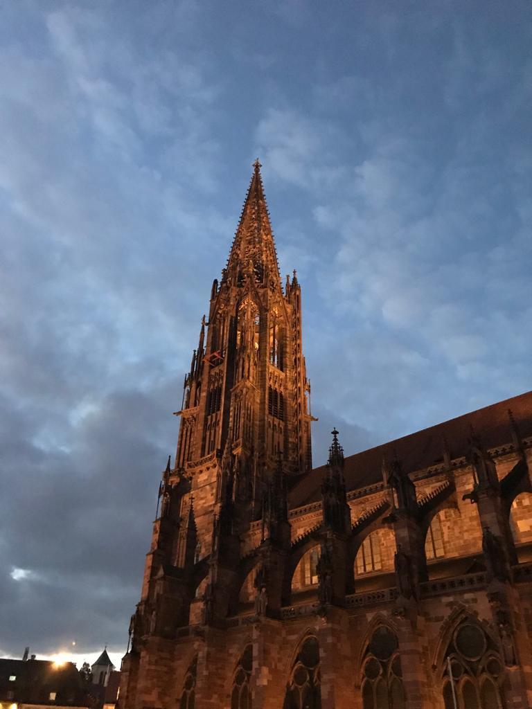 Münsterturm in Freiburg