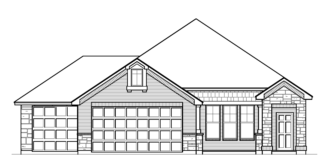 Optional 3 Car Garage