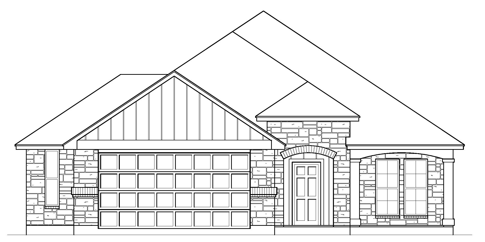 Optional Garage Extension