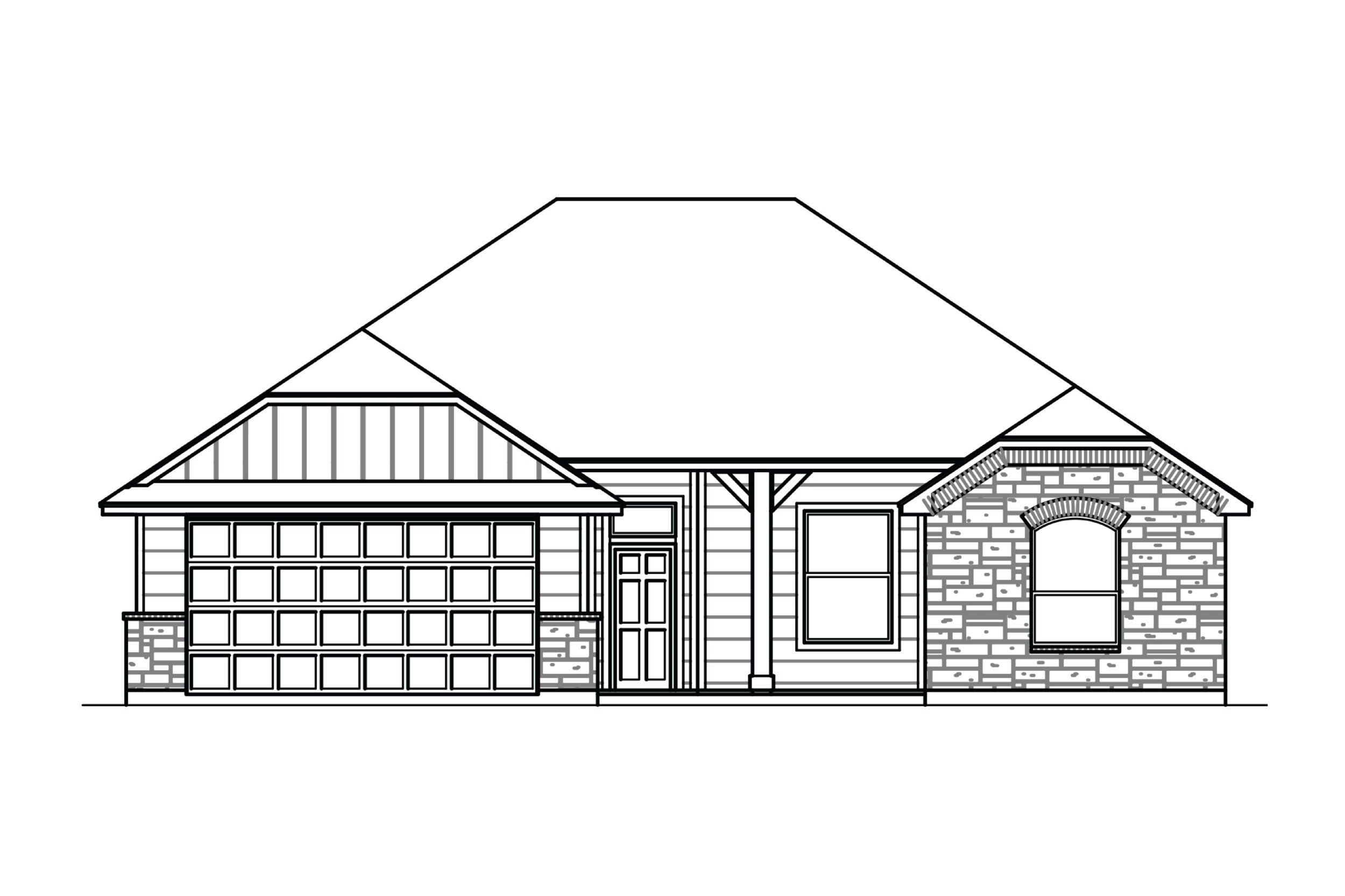 Allen - 1596 Square Feet3 Bedrooms | 2 BathroomsStarting at $225,990