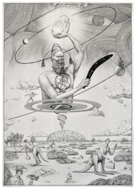 Drawings by Interesni Kazki