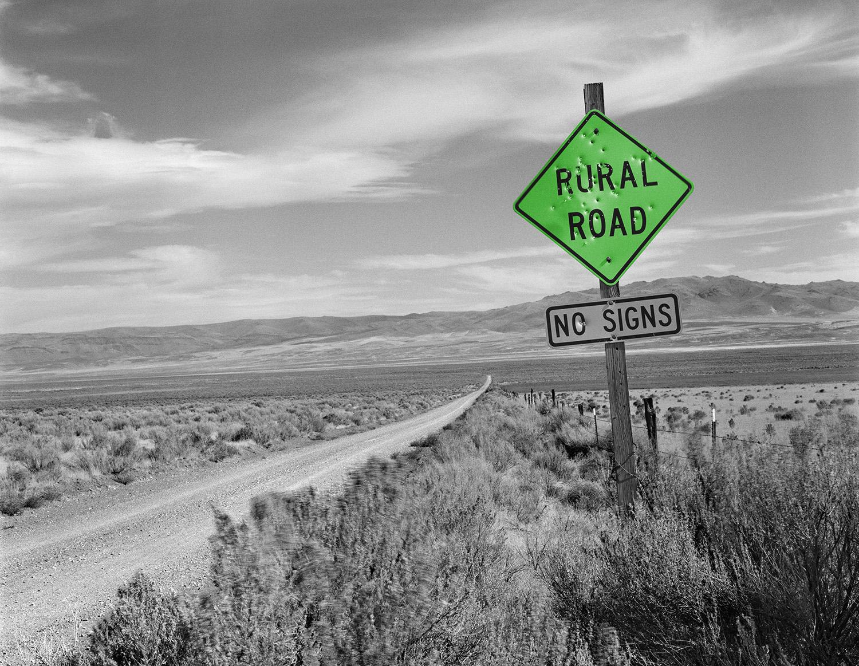 Rural Road, Oregon, 2001/2015