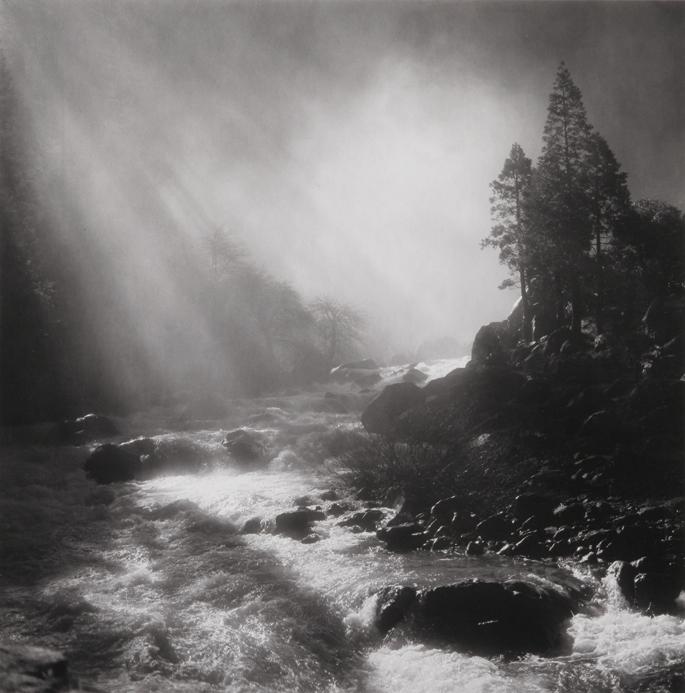 Base of Nevada Fall, Yosemite National Park, CA, 1981