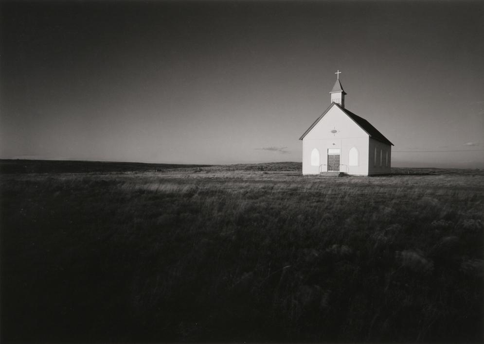 Church at Nara Visa, NM, 1984