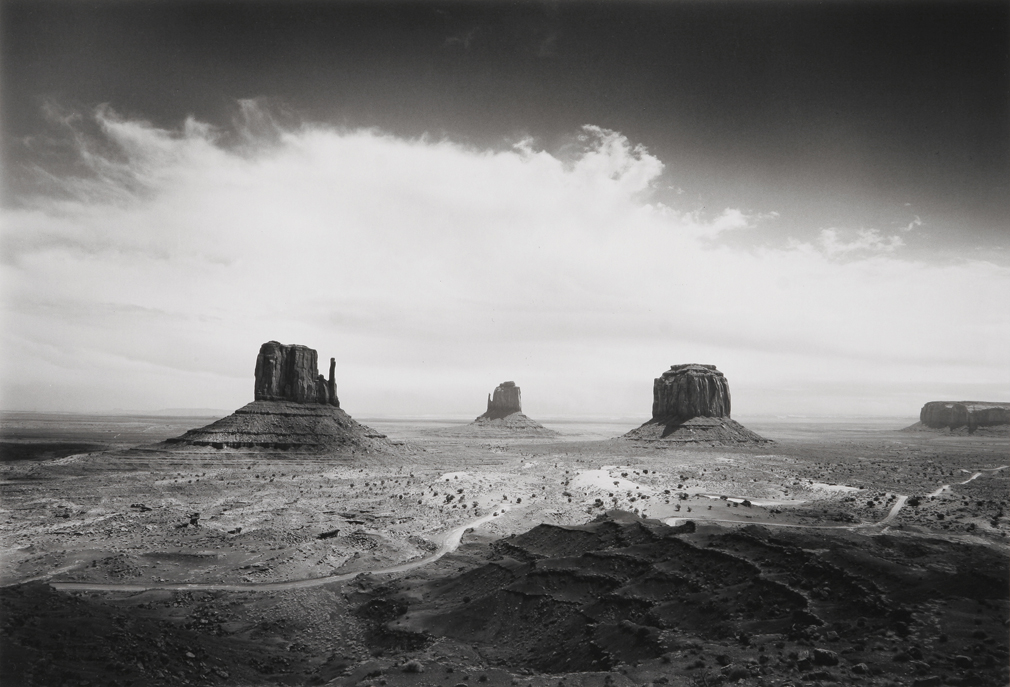Clearing Storm, Monument Valley, AZ, 1984