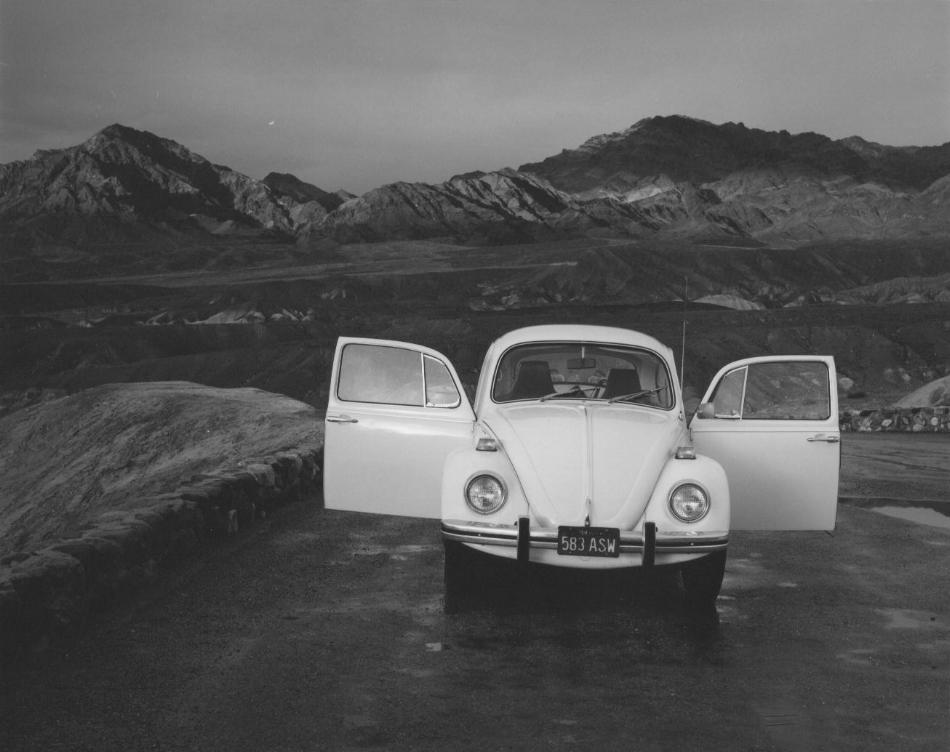 Volkswagen Zabriskie Point, Death Valley, CA, 1974