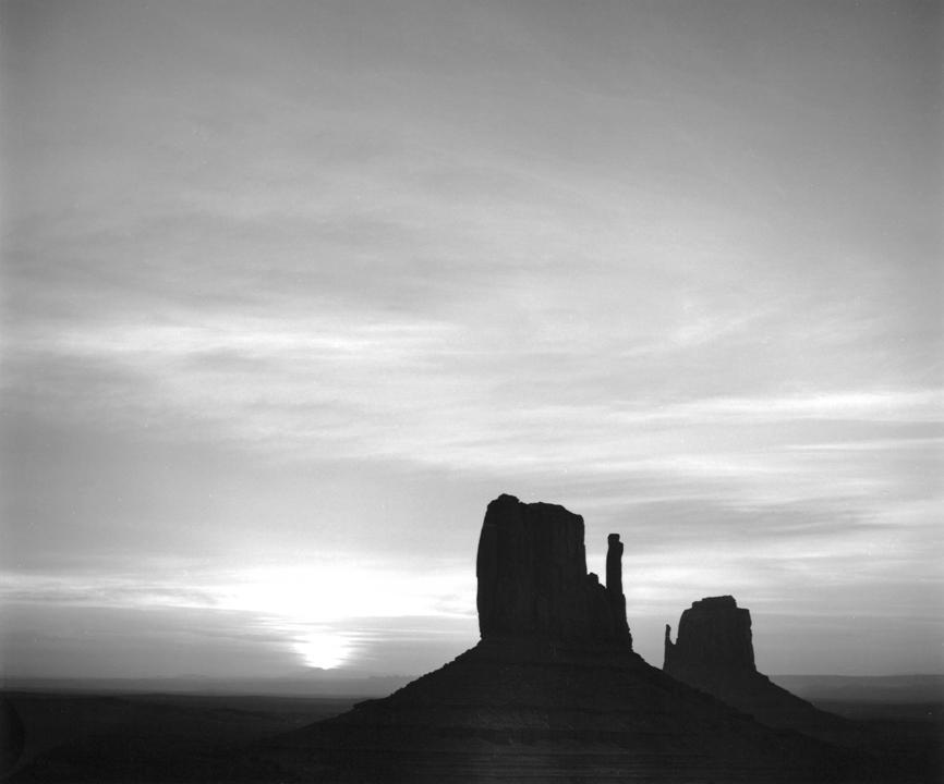 Sunrise, Monument Valley, AZ, 1979