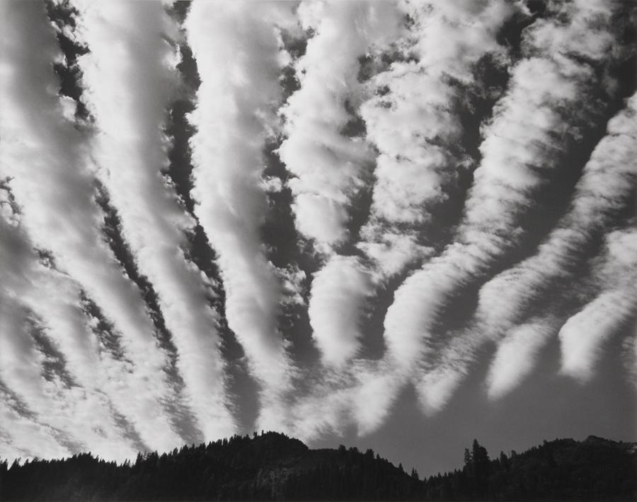 Clouds over Yosemite, Yosemite National Park, CA, 1974