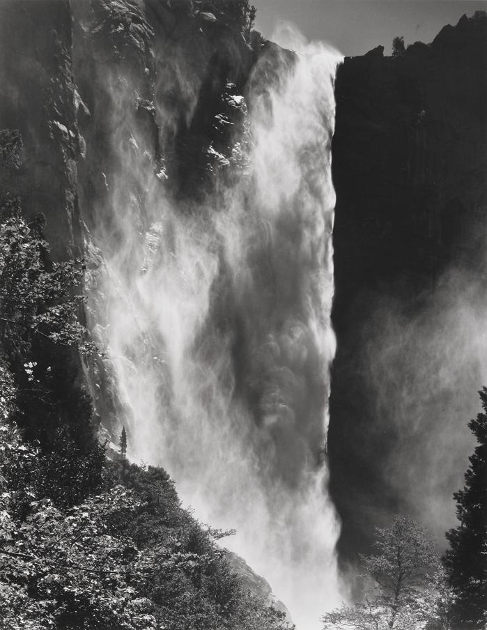 Bridalveil Fall, Yosemite National Park, CA, 1974