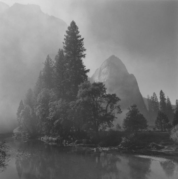 Fall Morning, Yosemite National Park, CA, 1999