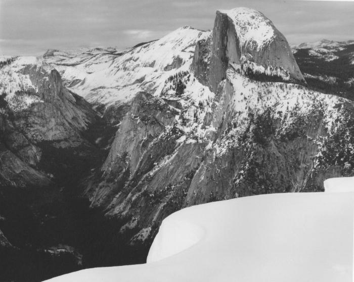 Half Dome in Winter, Yosemite National Park, CA, 1999