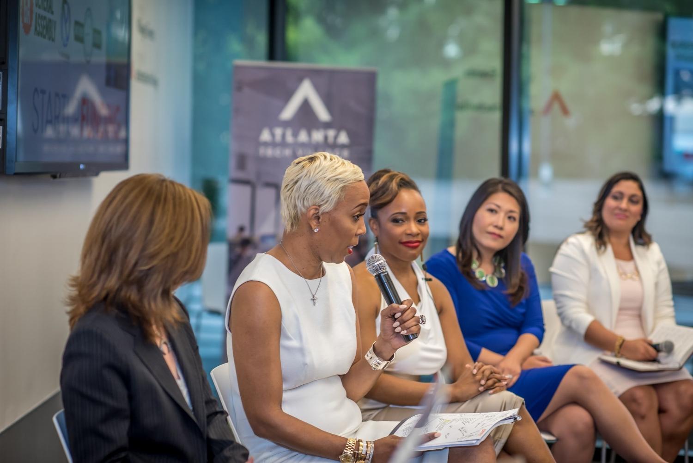Panelist (L to R): Genevieve Bos, Kimberly Blackwell, Roshawnna Novellus, Susan Oh, Veronica Maldonado-Torres