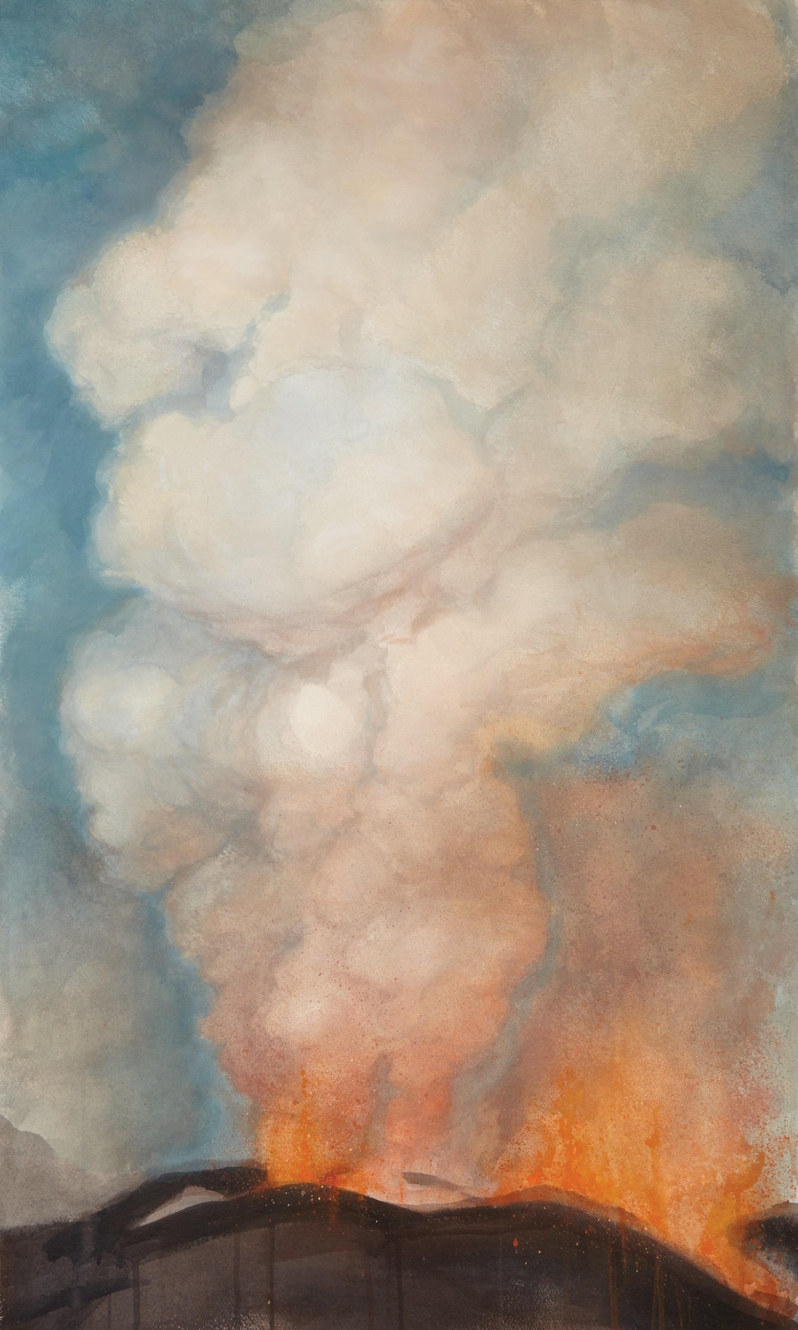 Volcano by Fergus Hare (H 100cm x W 60cm)