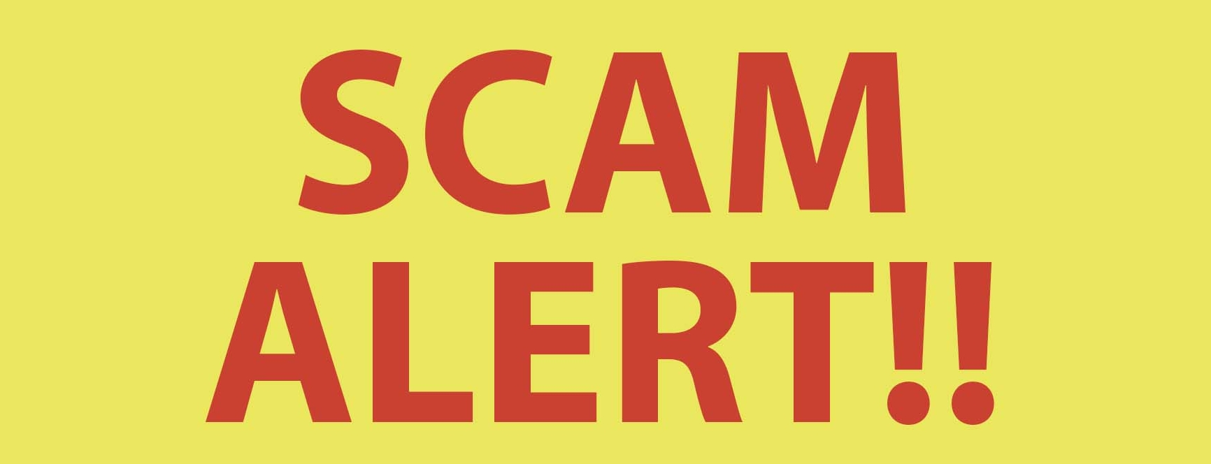 Unfortunately not all scams are that easy to spot but if your processes are water tight the scammers have to show their hand eventually.