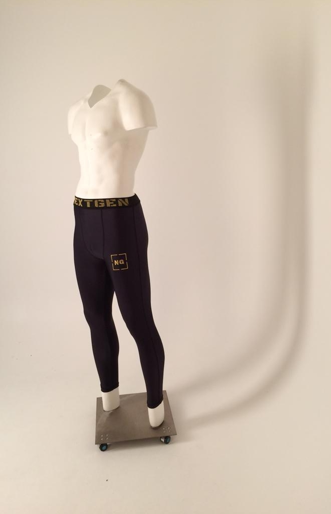 Our invisible mannequin in NEXTGEN Compression Leggings casting a wonderful shadow onto the infinity cove.