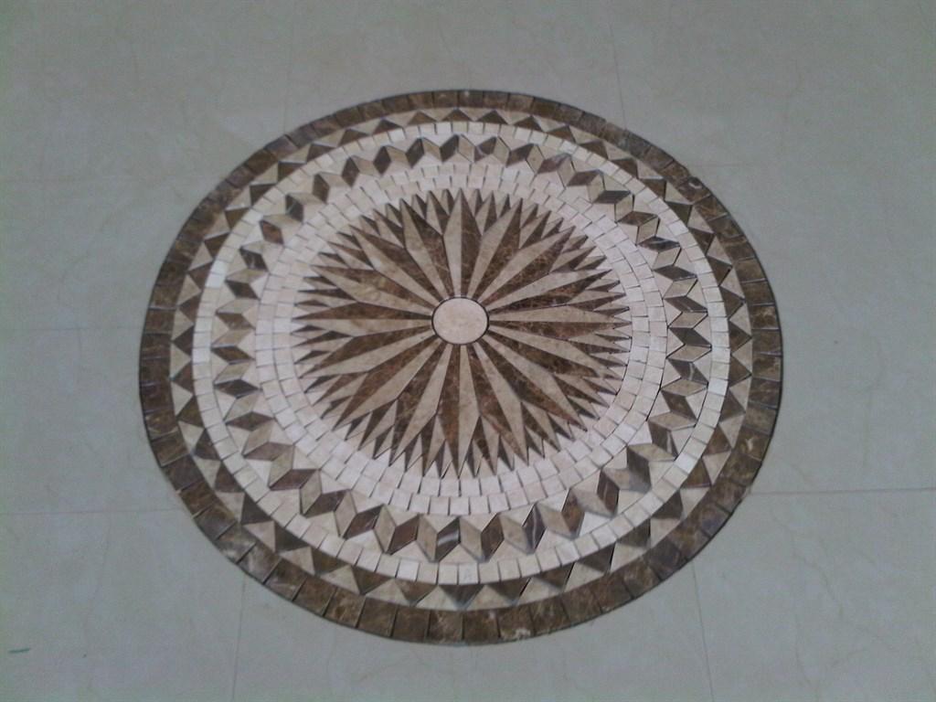 Custom Tile Medallion