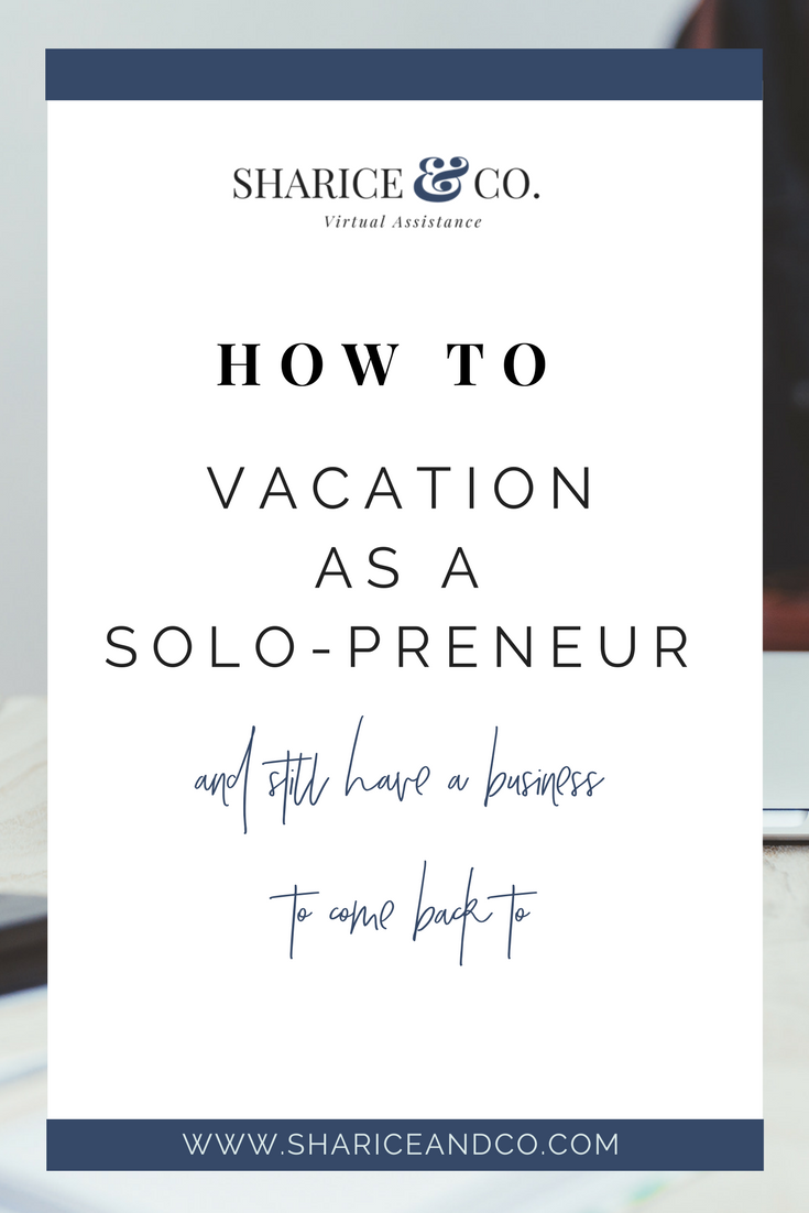 Vacation Solopreneur