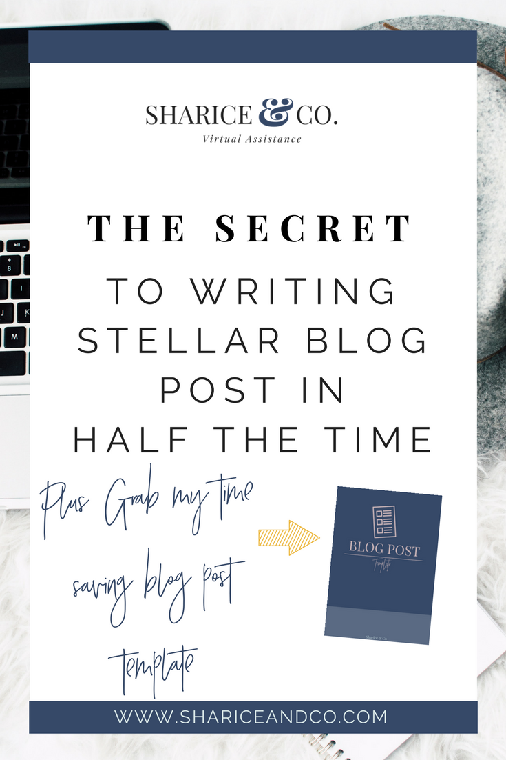 Blog Post Template With Writing Prompts