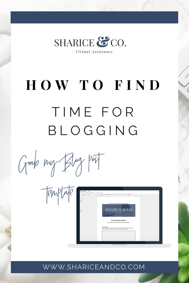 Blog consistently