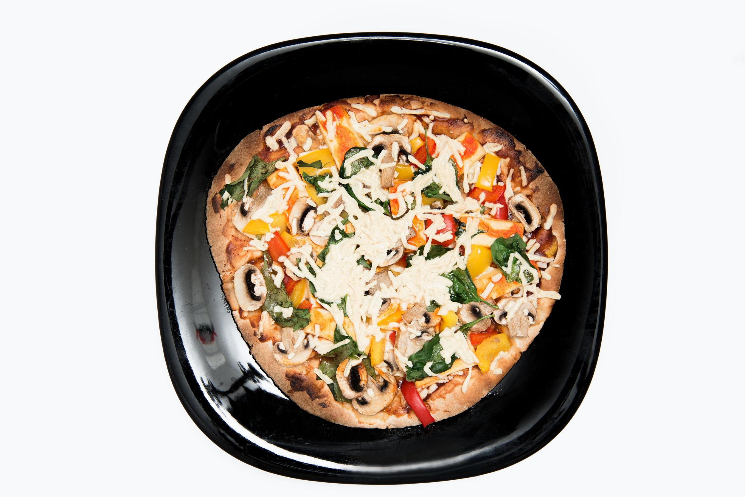 Step 3: Bake for 12 min and MMMMMM Vegan Pizza
