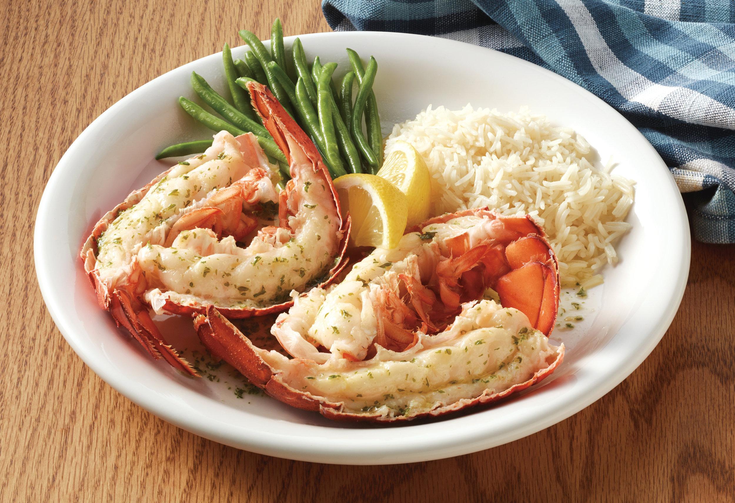 Garlic Herb Butter Split Lobster Tails
