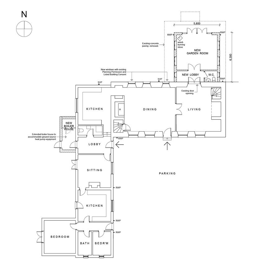 Lyng Hall Farm House plan.jpg