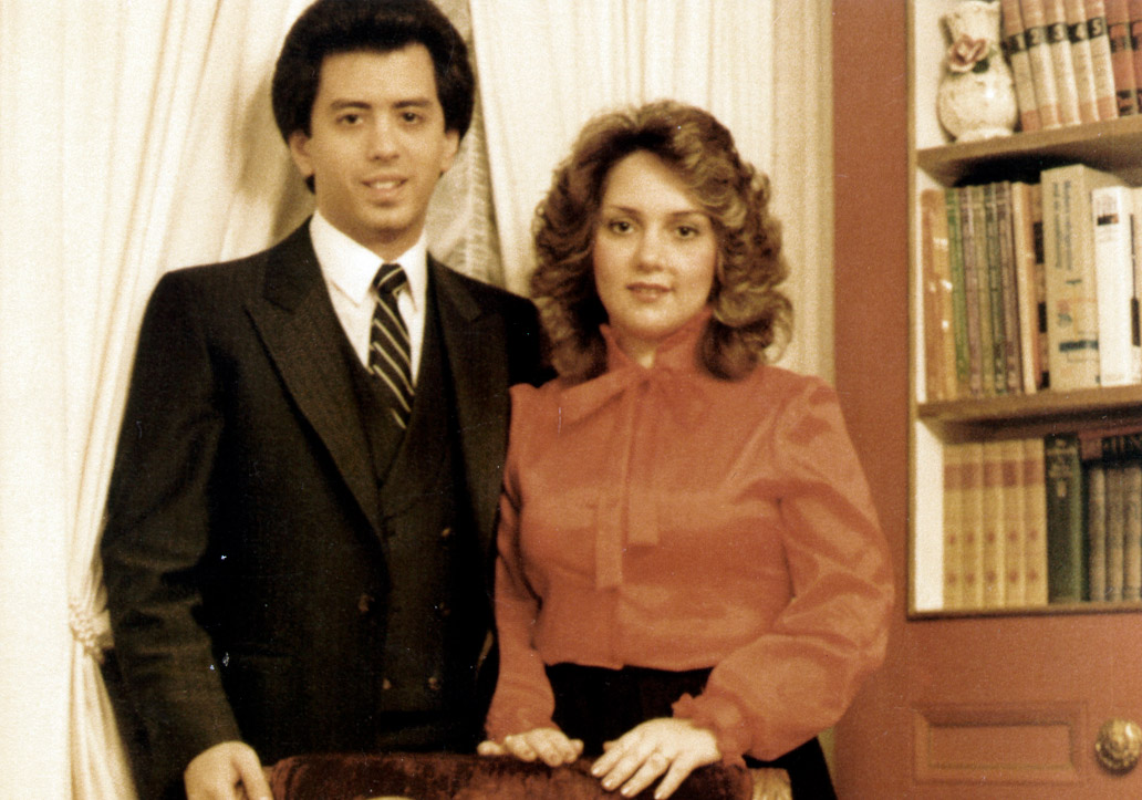 Jonathan and Verna in 1981, the year they began International Family Church.