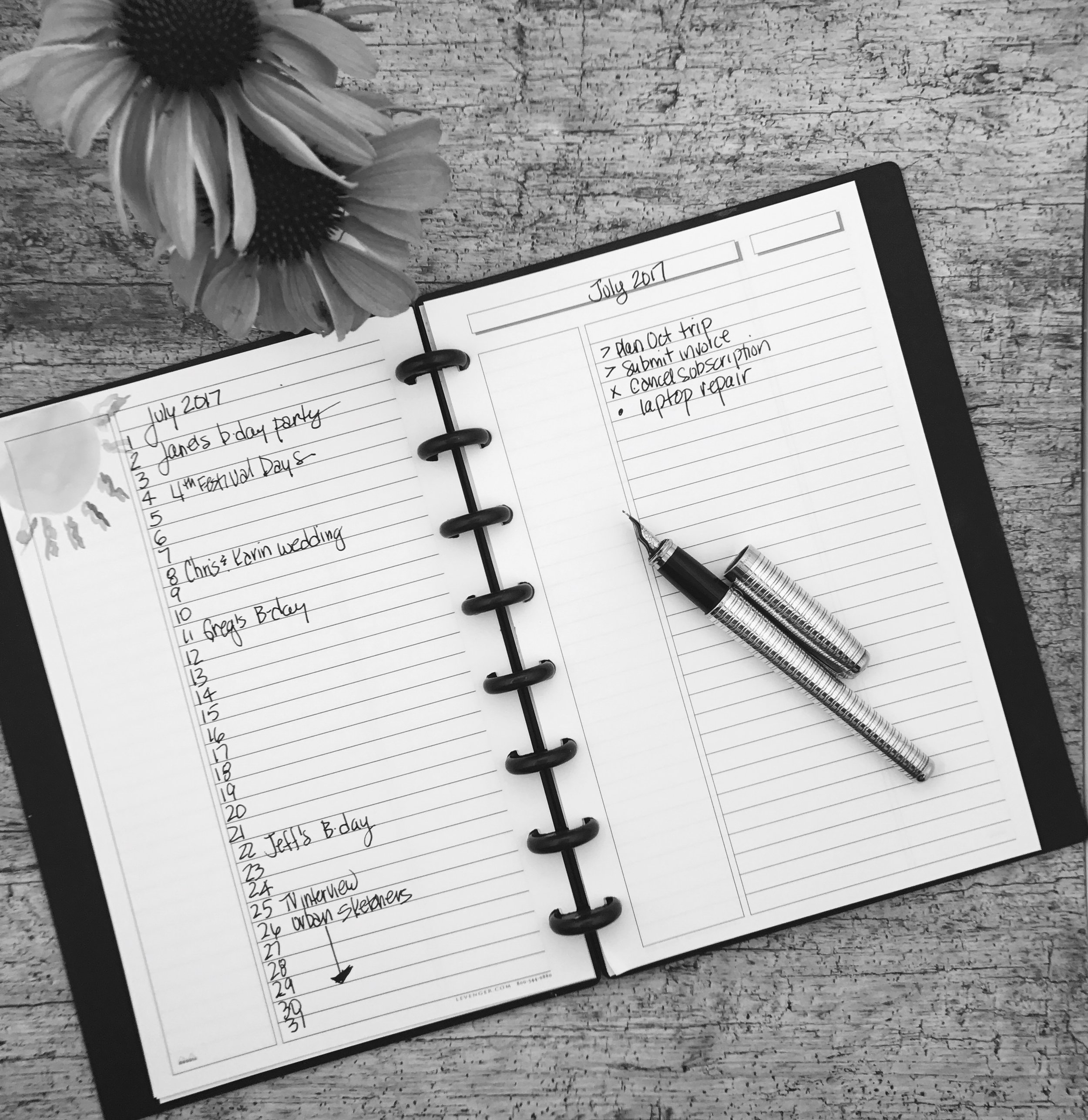 Bullet Journals: Help you discover what you need to do and why.